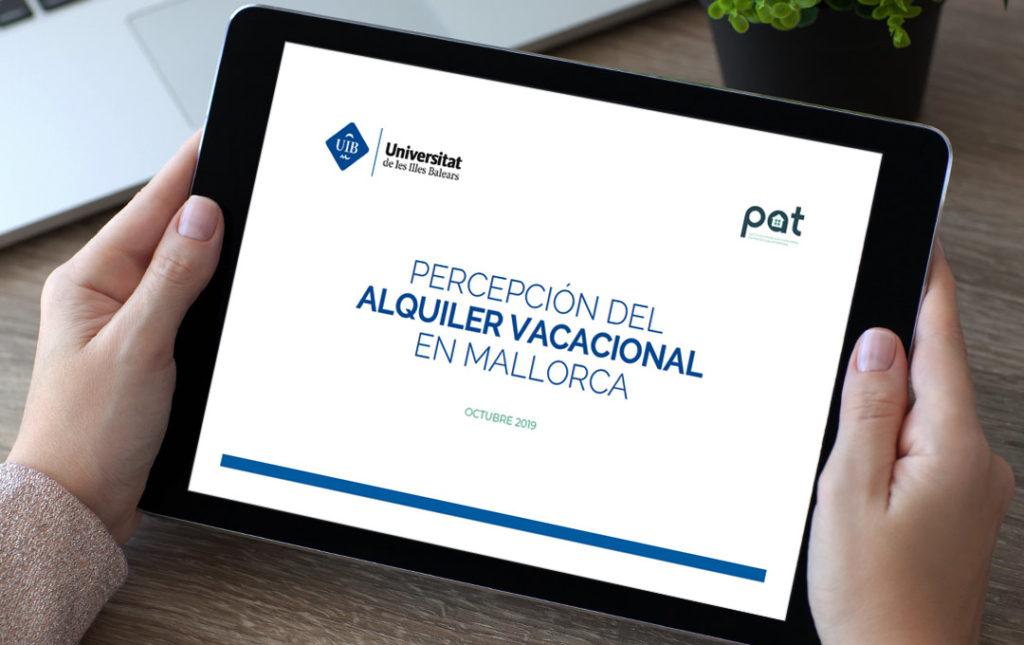 Percepción del alquiler vacacional en Mallorca